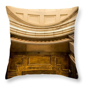 Edifice Ernest Cormier Throw Pillow
