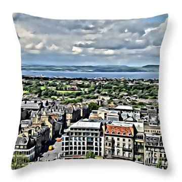 Edinburgh Throw Pillow