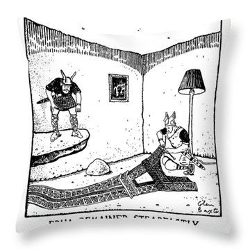 Edna Remained Steadfastly Impervious To Sven's Throw Pillow