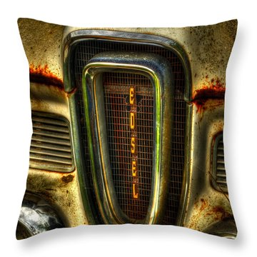 Edsel As Is Throw Pillow