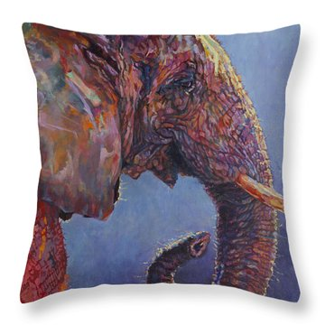 Ganesh Edward Throw Pillow