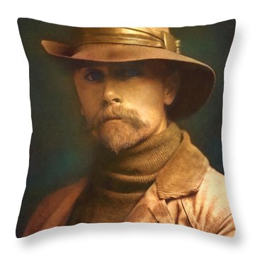 Edward S. Curtis 1899 Throw Pillow