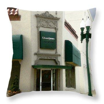 Edwardjones Throw Pillow
