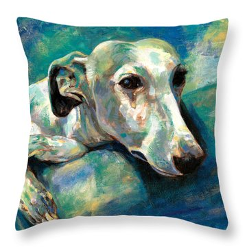 Effects Of Gravity 1 Throw Pillow by Derrick Higgins