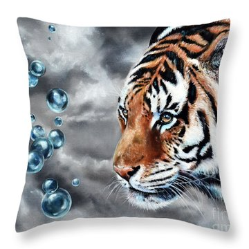 Effervescent Throw Pillow