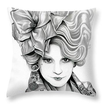 Effie Trinket - The Hunger Games Throw Pillow