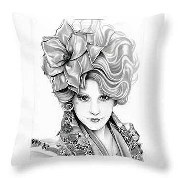 Effie Trinket - The Hunger Games Throw Pillow