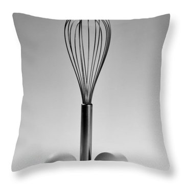 Egg Beater Throw Pillow