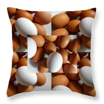 Eggland's Best Throw Pillow