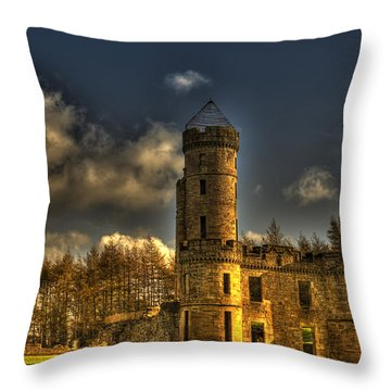 Eglinton Castle Throw Pillow