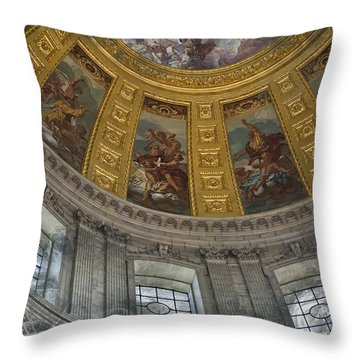 Eglise Du Dome Throw Pillow by Evie Carrier