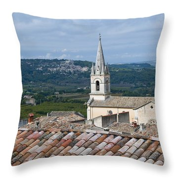 Eglise Haute Throw Pillow by Bob Phillips