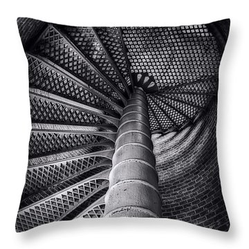 Egmont Key Lighthouse Throw Pillow