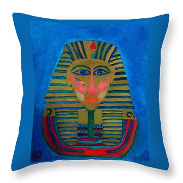 Egypt Ancient  Throw Pillow by Colette V Hera  Guggenheim