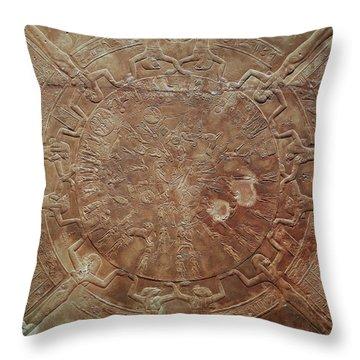 Egyptian Celestial Sphere Throw Pillow by Granger