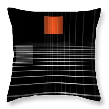 Abstraction Throw Pillows
