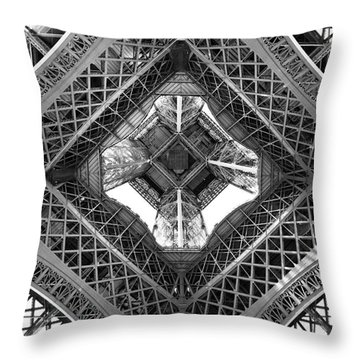 Parisian Photographs Throw Pillows