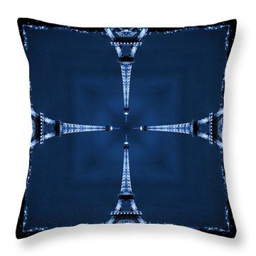 Eiffel Art 27 Throw Pillow