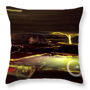 Eighty Eight Miles Per Hour Throw Pillow by Jason Politte