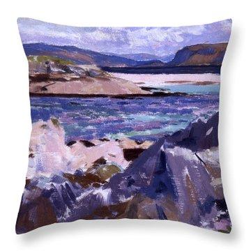 Eilean Annraidh From The North End Throw Pillow