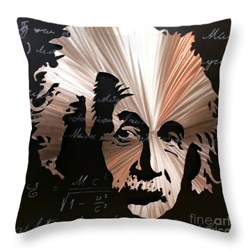 Einstein Throw Pillow