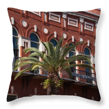 El Centro Espanol De Tampa Throw Pillow