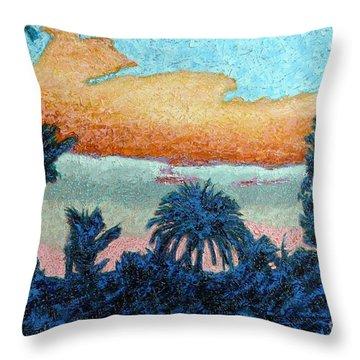 El Dorado Sunrise Throw Pillow
