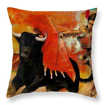 El Matador Throw Pillow