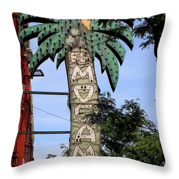 El Mocambo Tavern Throw Pillow by Andrew Fare