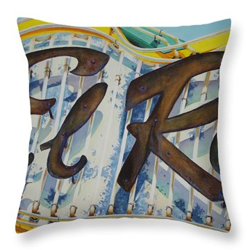 El Ray Throw Pillow