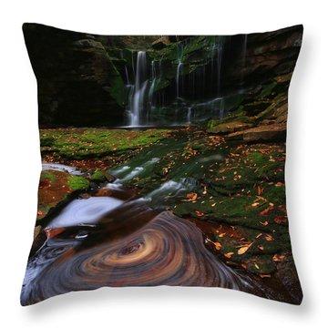 Elakala Falls Throw Pillow