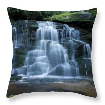 Elakala Falls Number 2 Throw Pillow