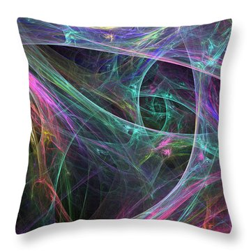 Elasticity-01 Throw Pillow by RochVanh