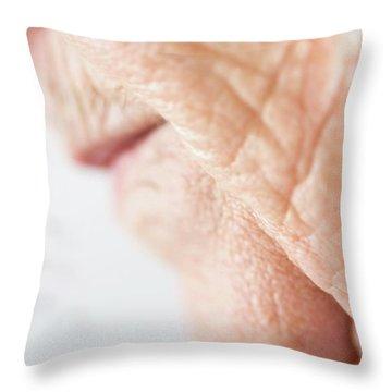 Gerontology Throw Pillows
