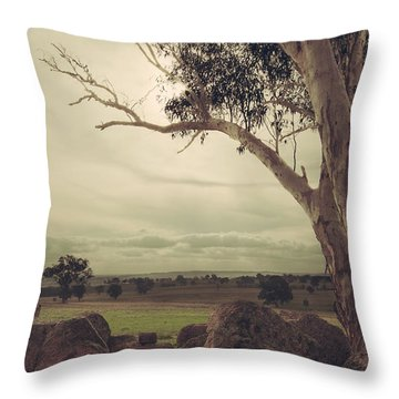 Eldorado Gumtree Throw Pillow