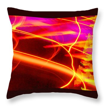Electra Ride Throw Pillow