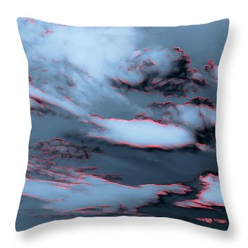 Electrified Throw Pillow by Pamela Hyde Wilson