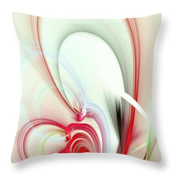Elegance Throw Pillow by Anastasiya Malakhova