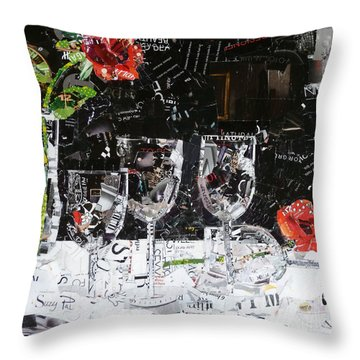 Elegance Is An Attitude Throw Pillow by Suzy Pal Powell