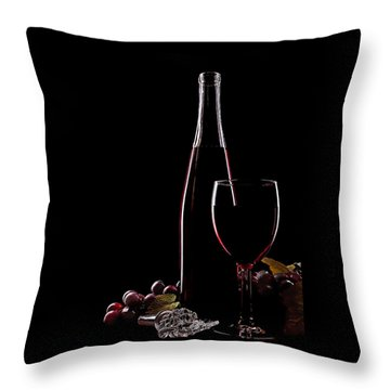 Elegance Throw Pillow by Marcia Colelli