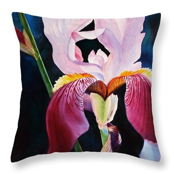 Elegance Throw Pillow by Marilyn Jacobson
