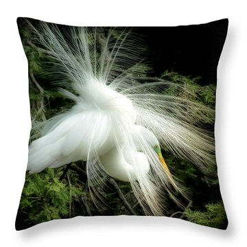 Elegance Of Creation Throw Pillow