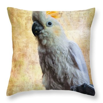 Throw Pillow featuring the photograph Elegant Lady by Lois Bryan