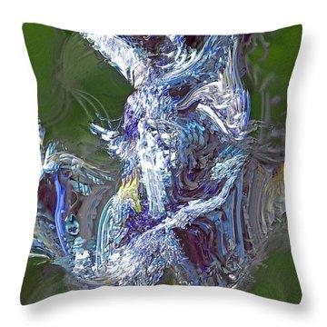 Elemental Throw Pillow by Richard Thomas