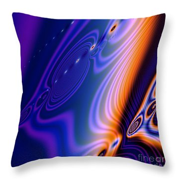 Elements Throw Pillow by Candice Danielle Hughes
