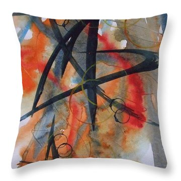 Elements Of Design Throw Pillow
