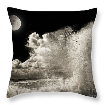 Elements Of Power Throw Pillow