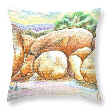 Elephant Rocks State Park II  No C103 Throw Pillow