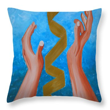 Elevate Throw Pillow