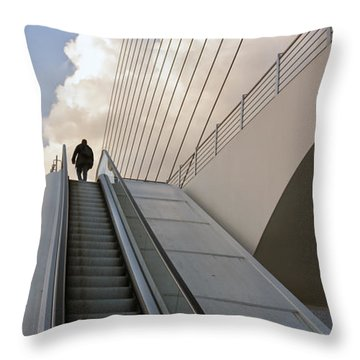 Elevator Throw Pillow